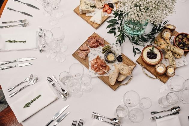 Sharing platter - Sam Docker Wedding