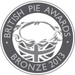 British Pie Awards Bronze 2013