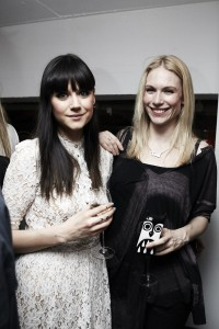 Lilah Parsons and friend