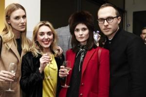 Charlotte De Carle and friends