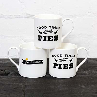 Pieminister Good Times With Pies Mug