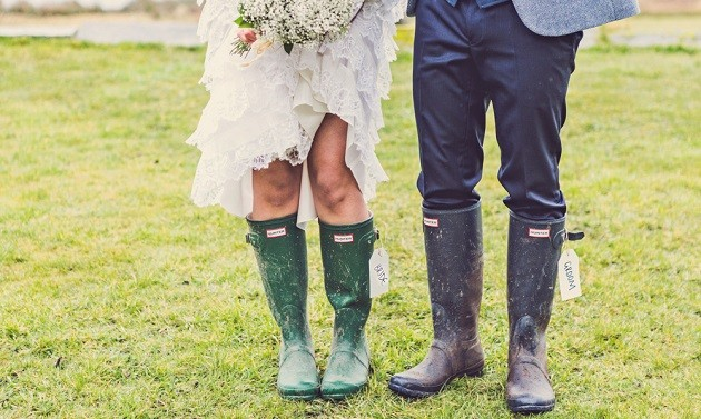 Wellies Wedding