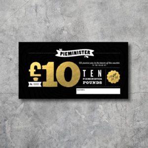 Pieminister £10 Voucher