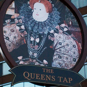 the queens tap button 2