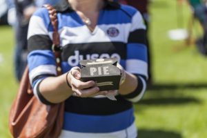 Pie Driver for Bath Rugby Matches