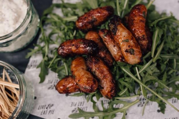 chipolatas - canapés sausages