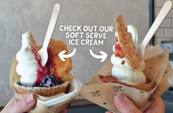 check out our soft serve ice cream