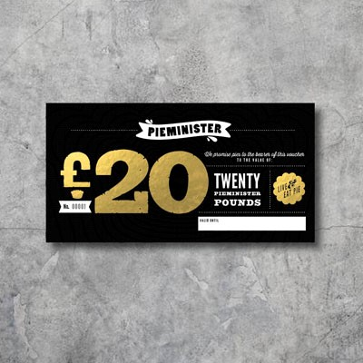 Pieminister £20 Voucher