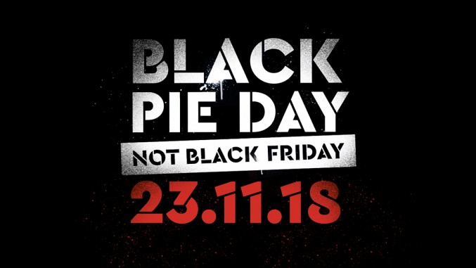 Black Pieday not Black Friday