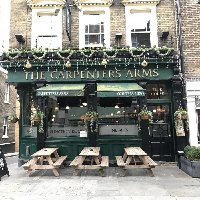 Carpenters Arms London - Pieminister pies