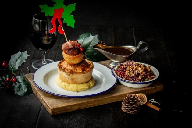 Pieminister Christmas feast 2018
