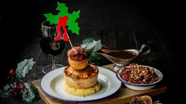 Pieminister Christmas feast