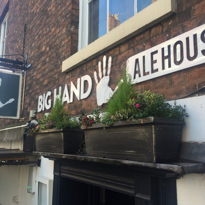Big Hand Ale House Pieminister pies