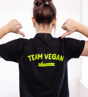 team vegan t-shirt