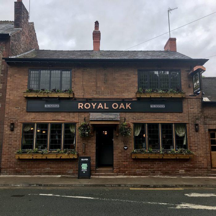 Royal Oak, Cheadle - Pieminister pies