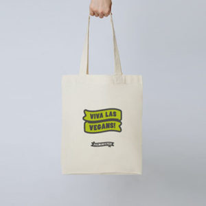 Pieminister Viva Las Vegans Canvas Bag