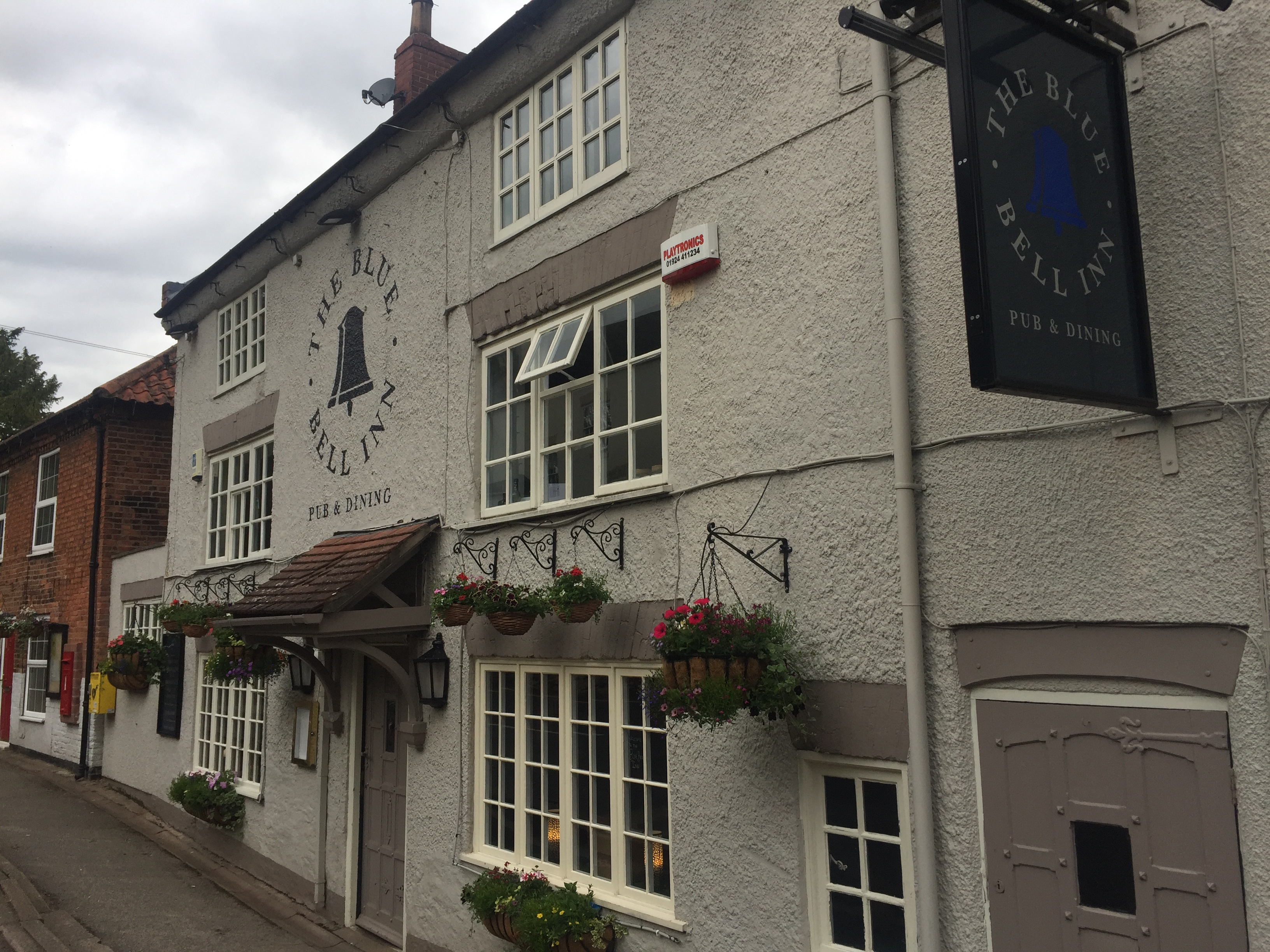 The Blue Bell Inn exterior
