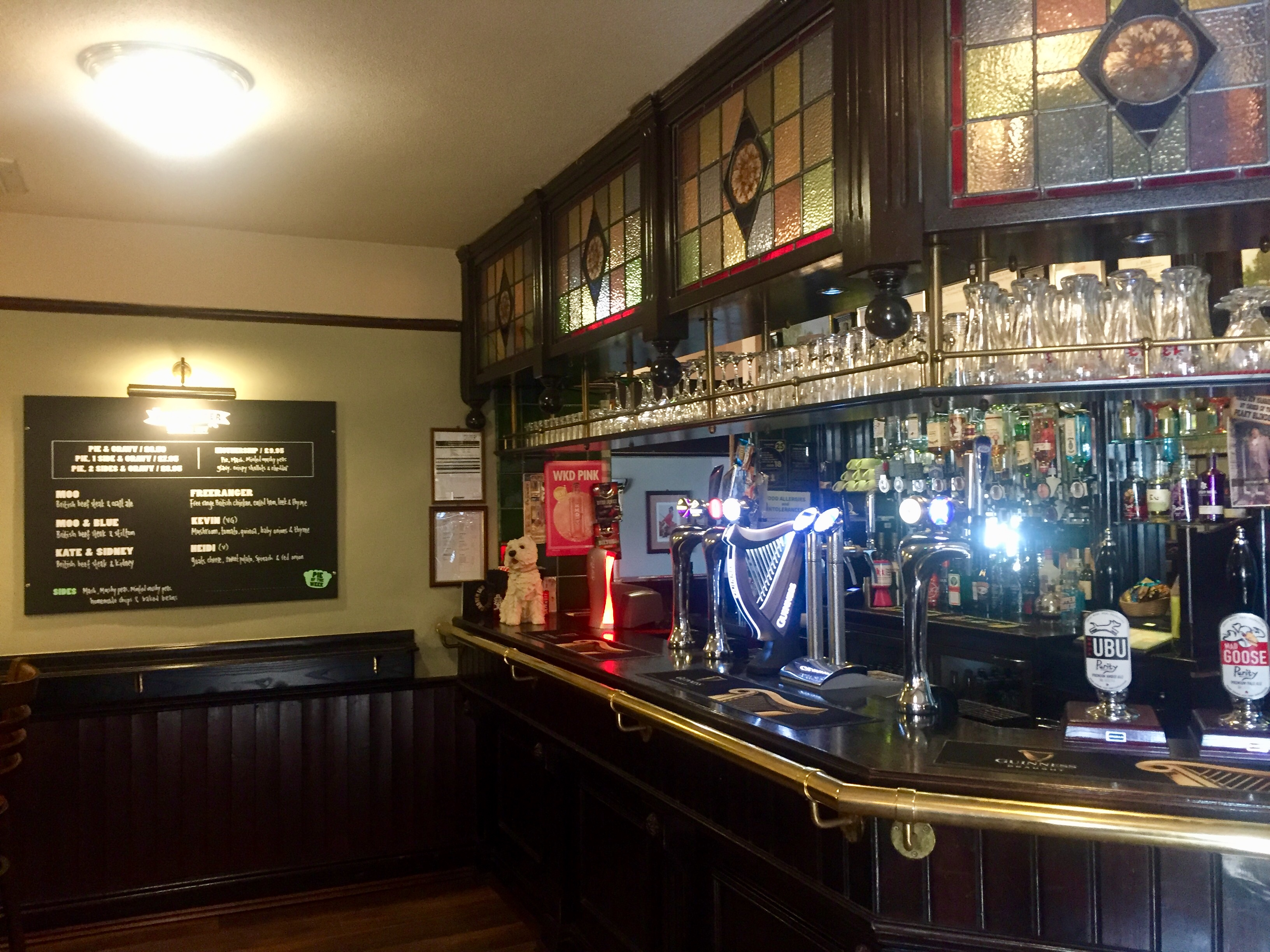 The interior of The Crown Inn in Rotherham