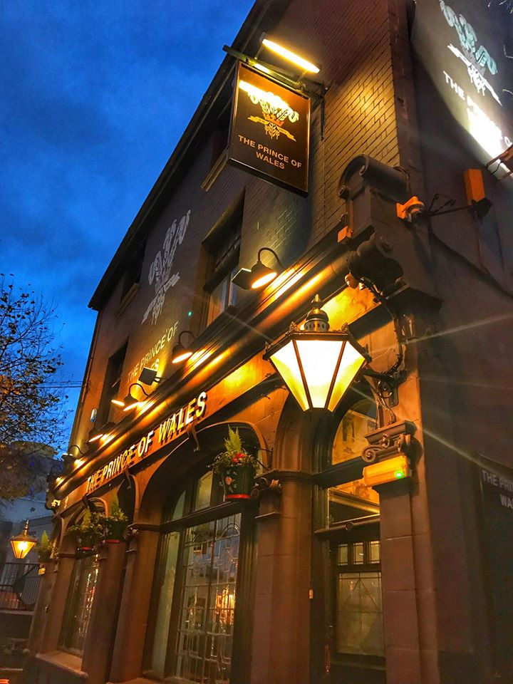 The Prince of Wales pub in Birmingham