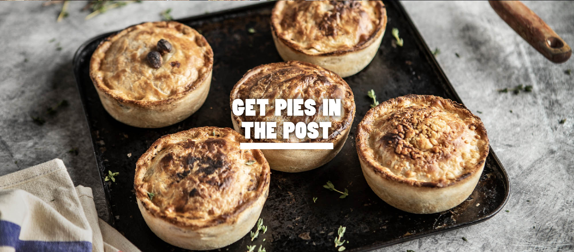Get Pies Delivered In The Post