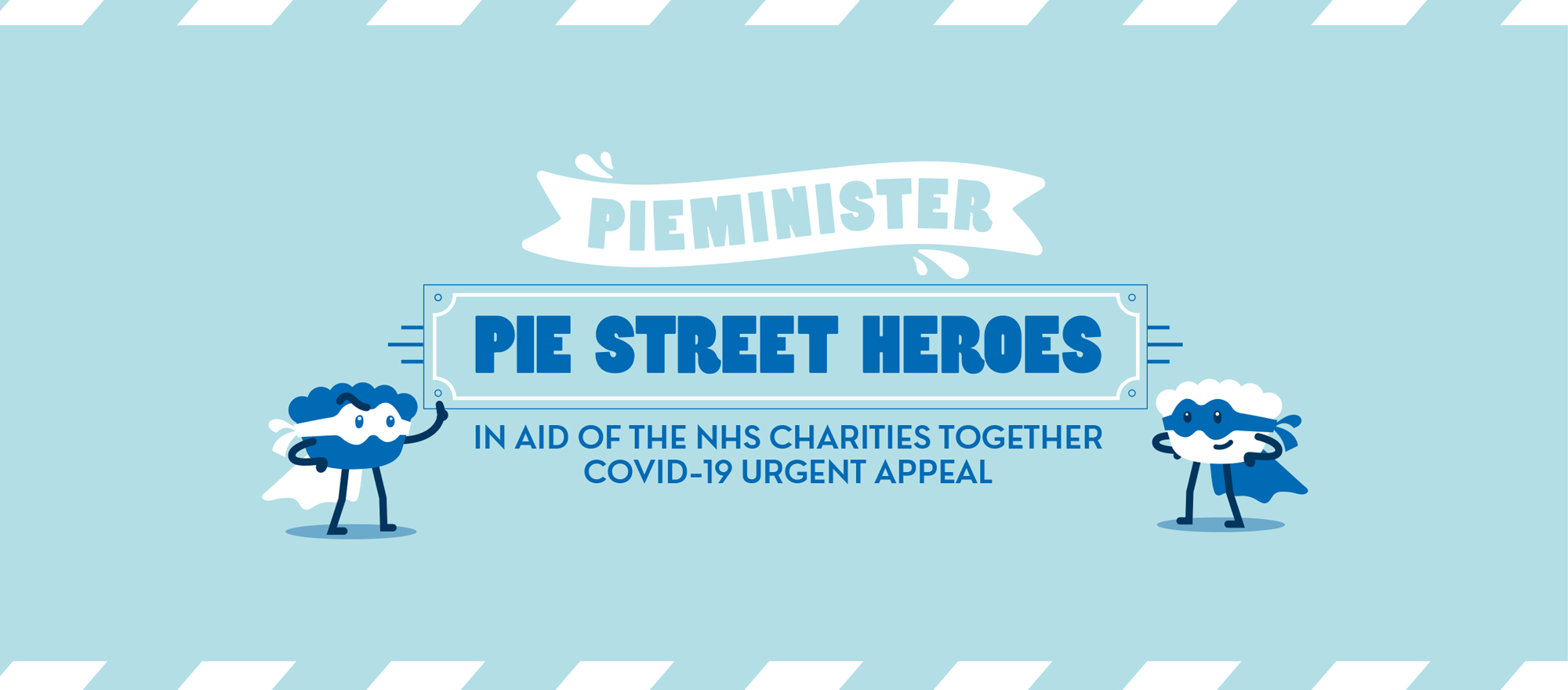 Become A Pie Street Hero