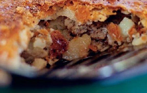 Pieminister Sausage, Cider & Potato pie recipe