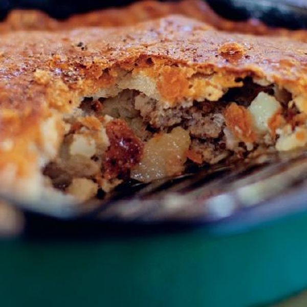 Pieminister Sausage, Cider & Potato pie recipe