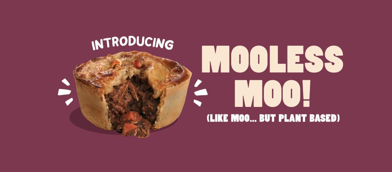 Mooless Moo - A vegan jackfruit 'steak', craft ale and black pepper pie