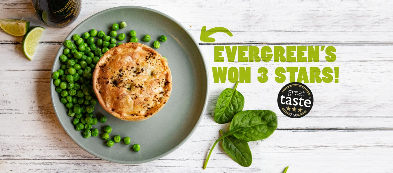 Evergreen won three stars