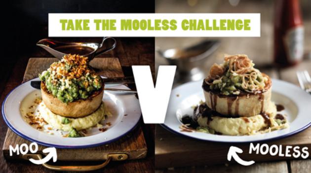 Moo vs Mooless Moo taste test challenge